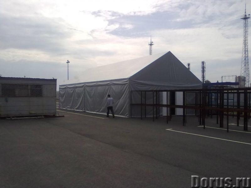 Ангары - Строительные услуги - Изготовление ангаров по вашему техническому заданию - город Челябинск..., фото 2