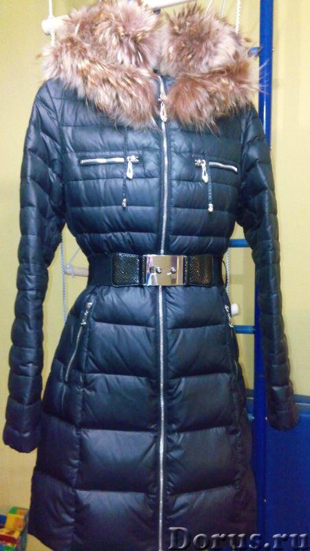 НОВЫЙ ПУХОВИК XS-S разм - Одежда и обувь - Продам Новый, черный пуховик отличного качества. Красивая..., фото 2