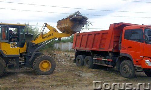 Уборка и вывоз строительного мусора, грунта - Строительные услуги - Компания ООО «Альянс» предлагает..., фото 1