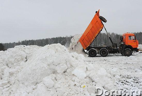 Компания ООО «Земстрой» предлагает услуги по вывозу и утилизации снега - Прочие услуги - Вывоз и ути..., фото 1