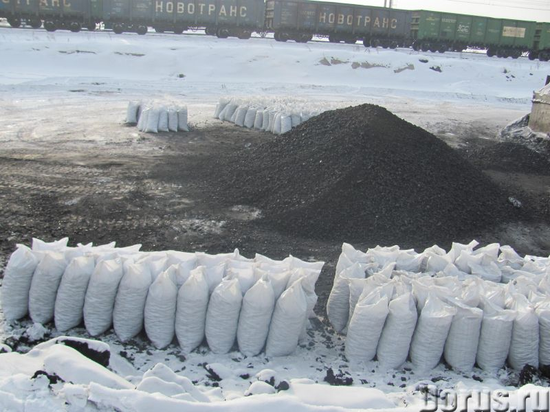 Уголь каменный в мешках и навалом - Уголь, торф, сланцы - Каменный, бурый. Сортовой-отборный (с мини..., фото 1