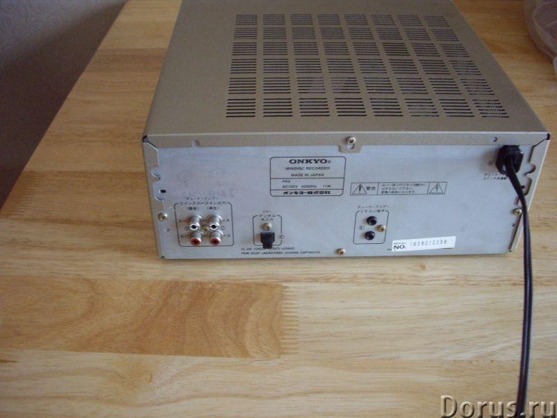 ONKYO MD-A7 мини-дисковая дека - Аудио и видео техника - ONKYO MD-A7 мини-дисковая дека Onkyo изгото..., фото 3
