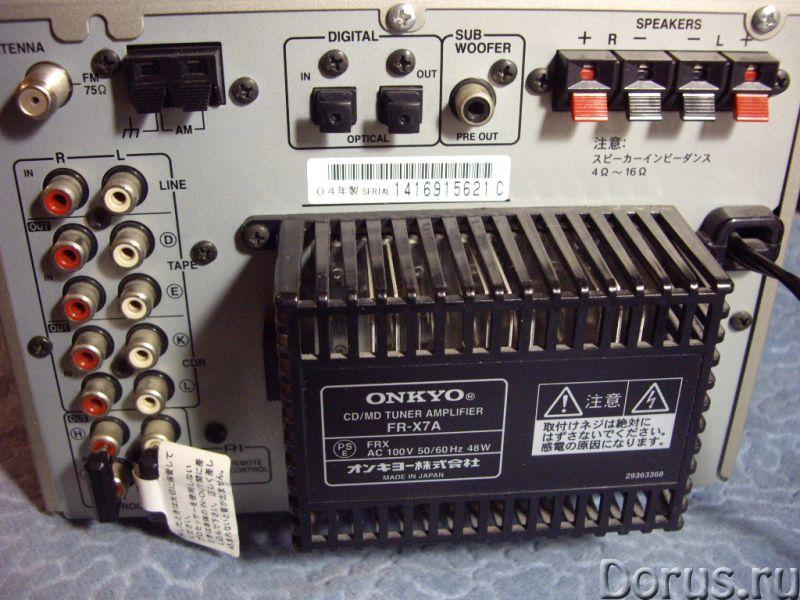 "Муз центр ""ONKYO FR -SX7A"" Япония - Аудио и видео техника - Муз центр ONKYO FR -SX7A Япония. 100 вол..., фото 3"
