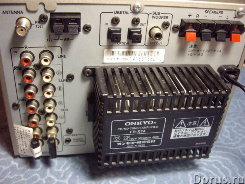 "Муз центр ""ONKYO FR -SX7A"" Япония - Аудио и видео техника - Муз центр ONKYO FR -SX7A Япония. 100 вол..., фото 5"