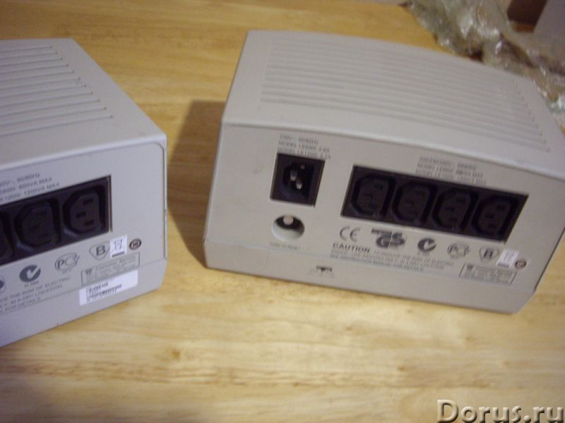 Автоматический стабилизатор напряжения APC Line-R 600 - Прочая техника - Автоматический стабилизатор..., фото 4