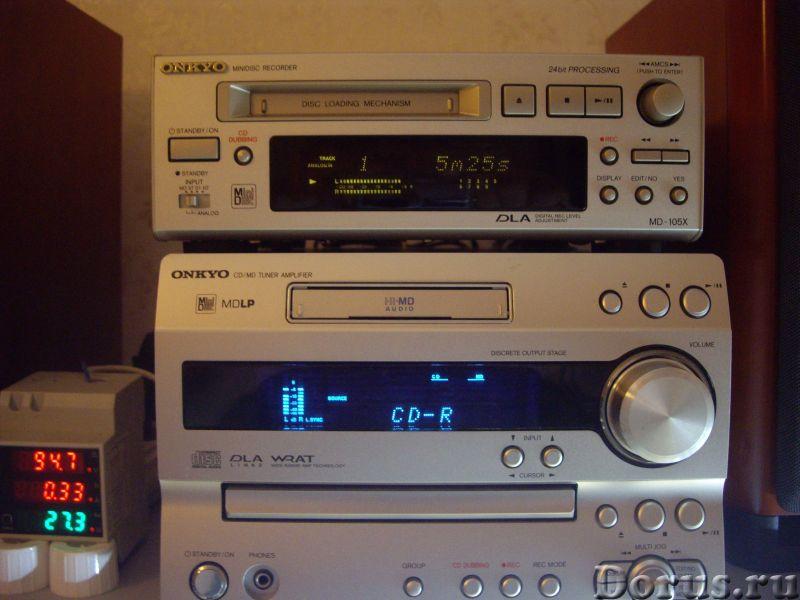 MD -мини-дисковая дека Onkyo MD-105X - Аудио и видео техника - MD -мини-дисковая дека Onkyo MD-105X..., фото 2