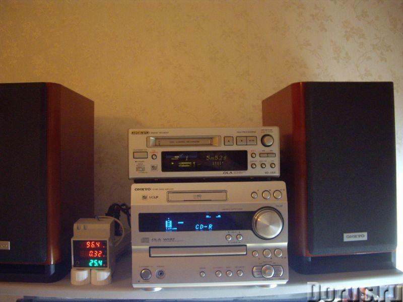 MD -мини-дисковая дека Onkyo MD-105X - Аудио и видео техника - MD -мини-дисковая дека Onkyo MD-105X..., фото 4