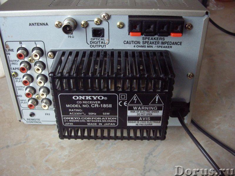 CD Ресивер ONKYO CR-185II - Япония - Аудио и видео техника - CD Ресивер ONKYO CR-185II - Япония Пита..., фото 9