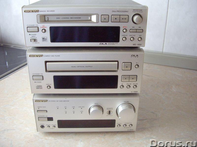 Музыкальный центр Onkyo - Аудио и видео техника - Музыкальный центр Onkyo Акустики нет. (можно свою..., фото 1