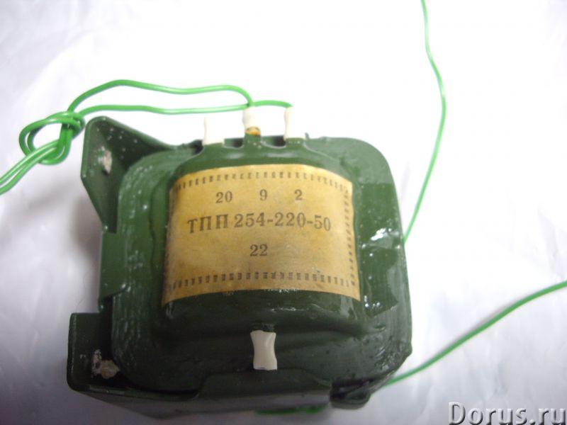 Трансформатор ТПП -254-220-50 - Радиоэлектроника - Трансформатор ТПП -254-220-50 При последовательно..., фото 3