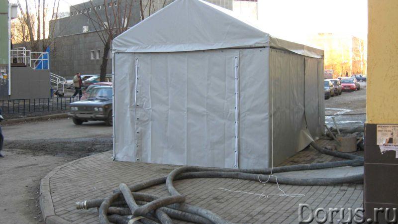 Сборно-разборные конструкции: ангары, палатки и др - Промышленное оборудование - Предлагаем изготовл..., фото 4